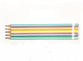 F-GP38_Assorted Colors Striped Pencil